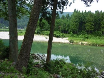 鮎の里ほらど川