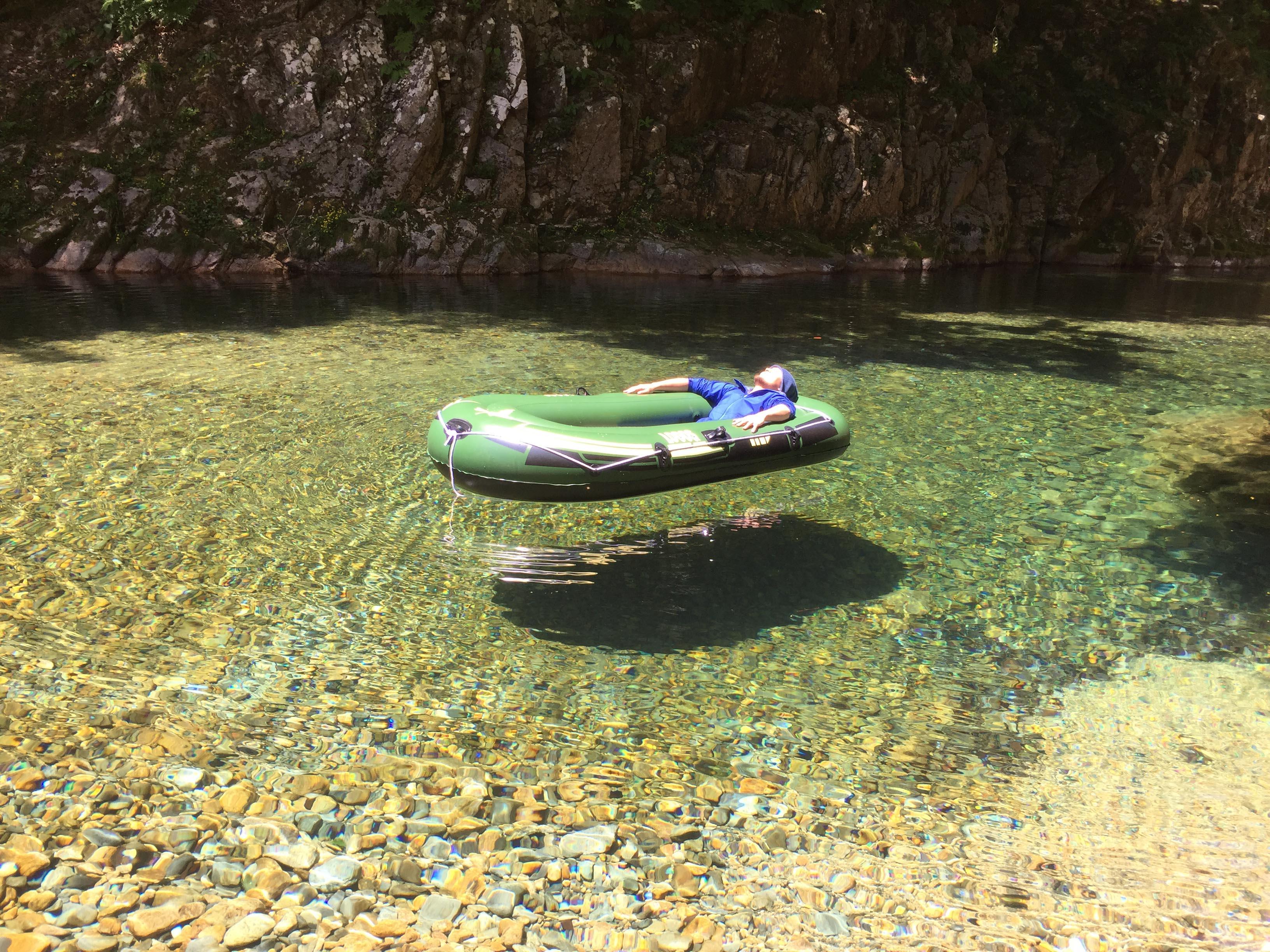 宙に浮く川板取川トップ