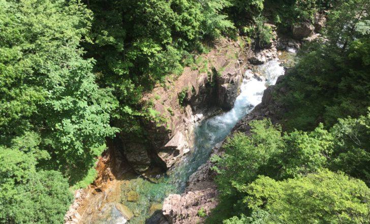 川浦渓谷のグランドキャニオン