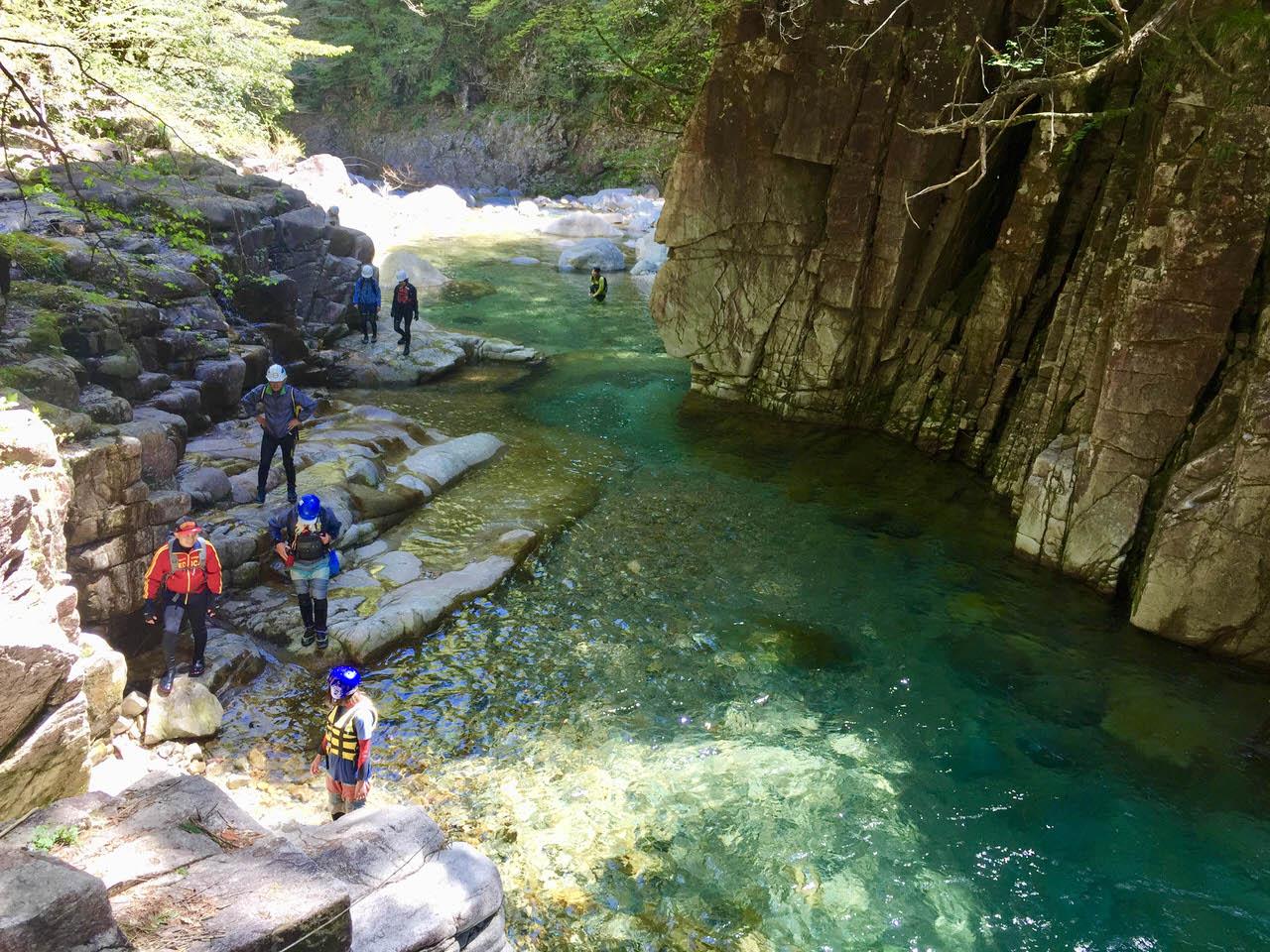 西ヶ洞の大自然