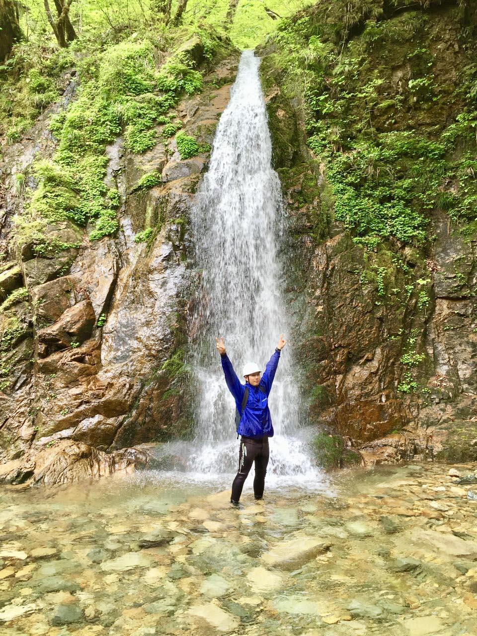 西ヶ洞の滝
